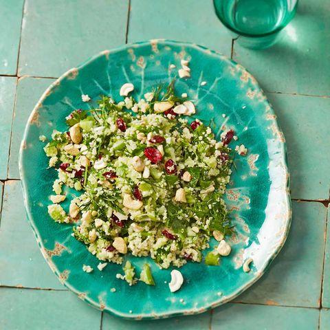 Couscous-Kräuter-Salat: Thermomix ® Rezept