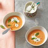 Linsen-Kokos-Suppe: Thermomix ® Rezept