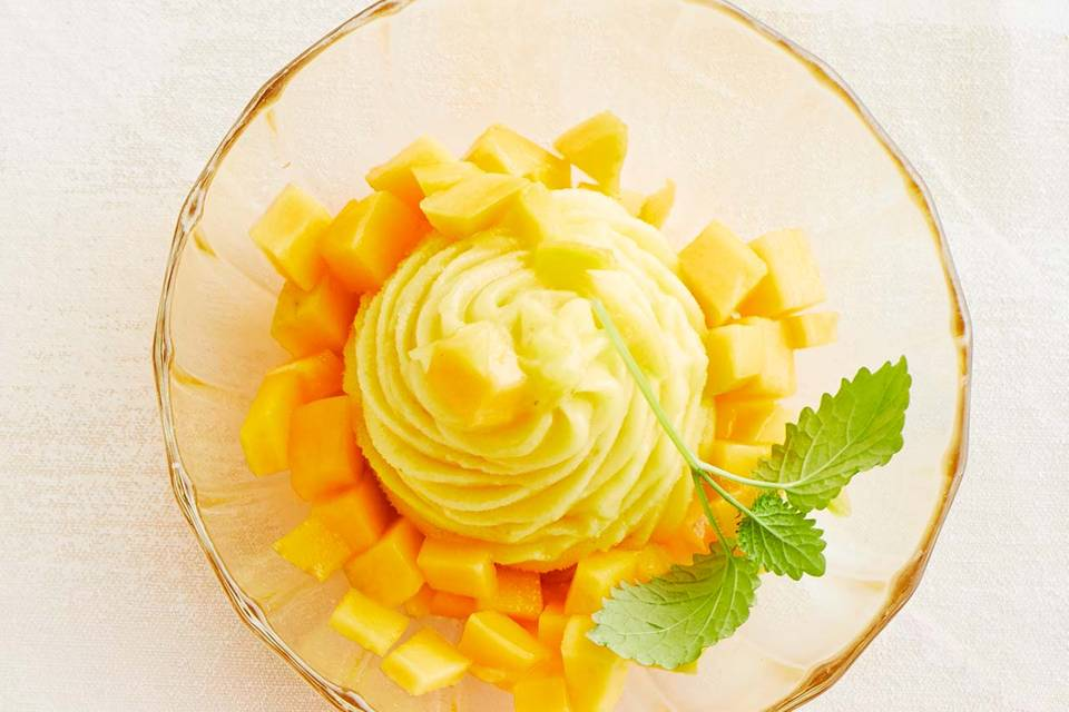 Mango-Sorbet: Thermomix ® Rezept
