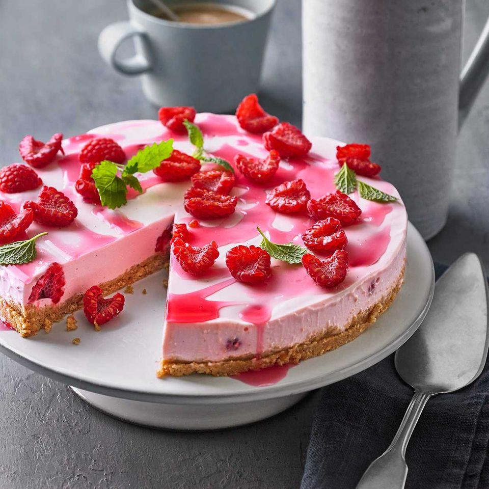 Himbeer-Frischkäse-Torte: Thermomix ® Rezept