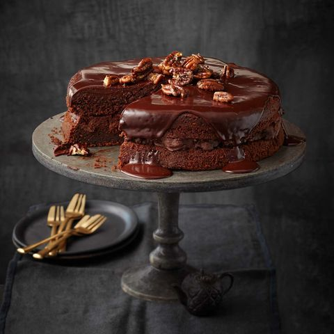 Schoko-Pekannuss-Torte: Thermomix ® Rezept