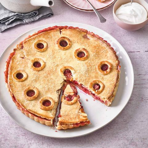 Birnen-Preiselbeer-Pie: Thermomix ® Rezept