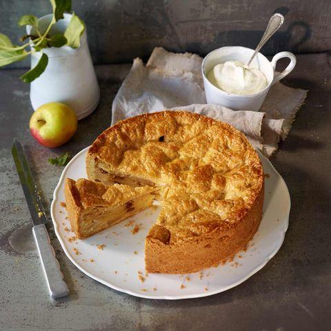 Gedeckter Apfelkuchen: Thermomix ® Rezept