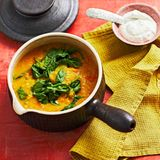Linsen-Spinat-Curry: Thermomix ® Rezept