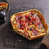 Chorizo-Quiche: Thermomix ® Rezept