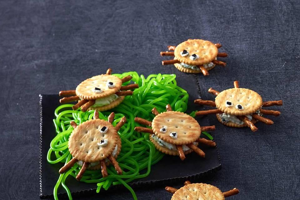 Cracker Spinnen Rezept