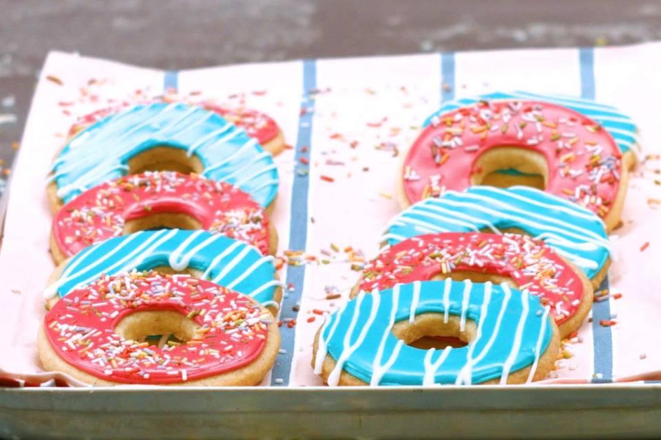 Donut-Kekse Rezept