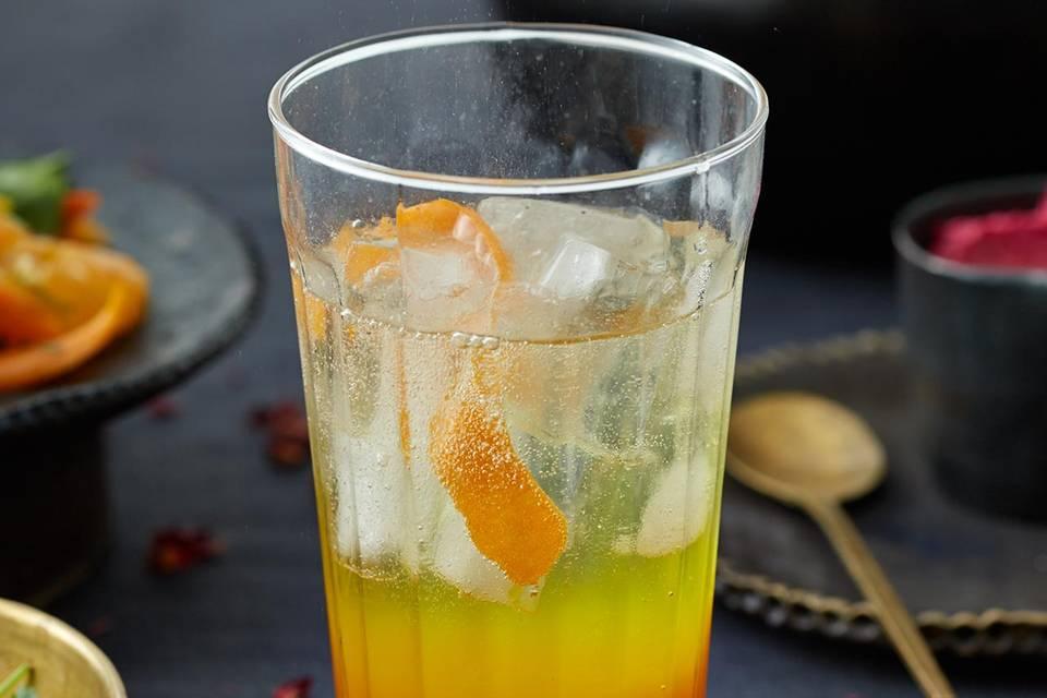 Orangen-Safran-Drink Rezept