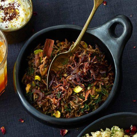 Mujadara (arabische Linsen mit Reis)