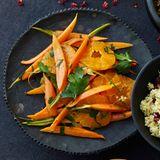 Möhren-Clementinen-Salat