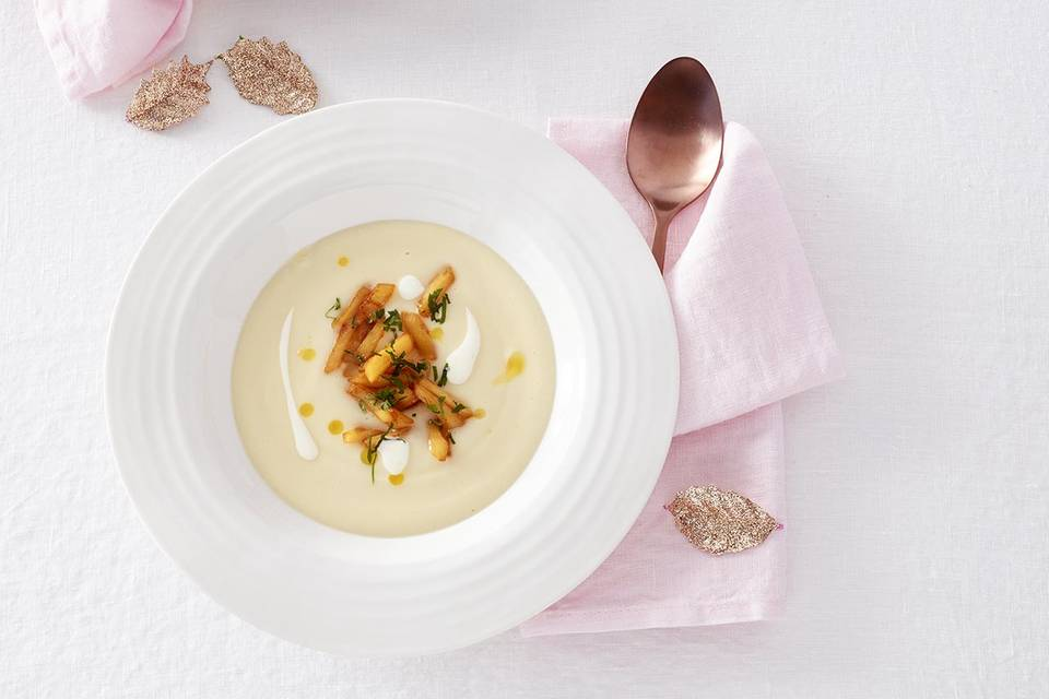 Sellerie-Pastinaken-Suppe Rezept