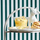 Lemon Curd mit kandiertem Ingwer und Kapern