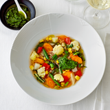 """""""End of Summer""""-Suppe mit Pistou"""