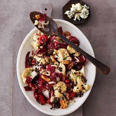Blumenkohl-Radicchio-Salat