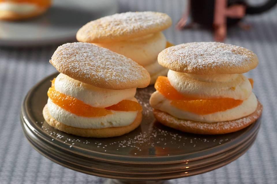 Biskuittörtchen mit Orangen Rezept