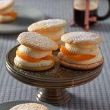 Biskuittörtchen mit Orangen