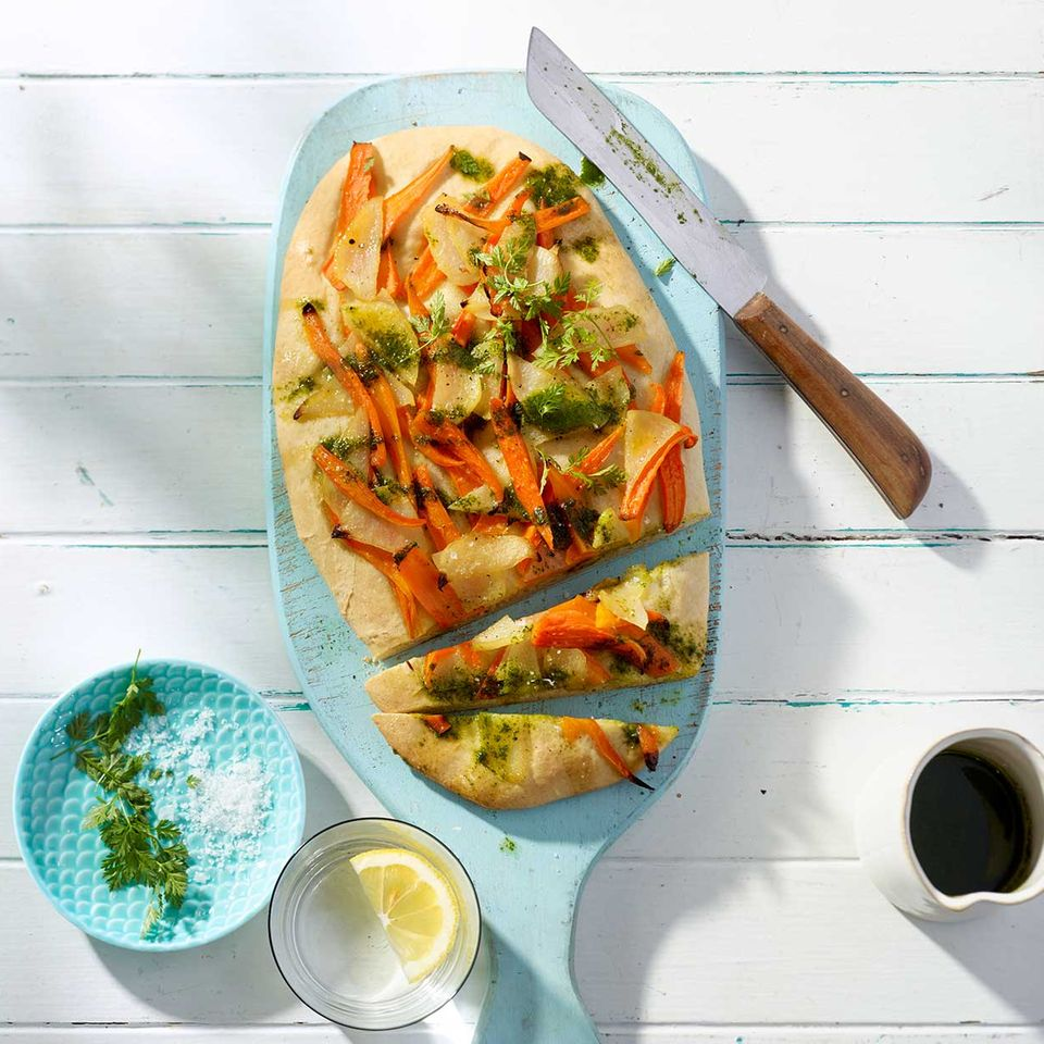 Gemüse-Focaccia