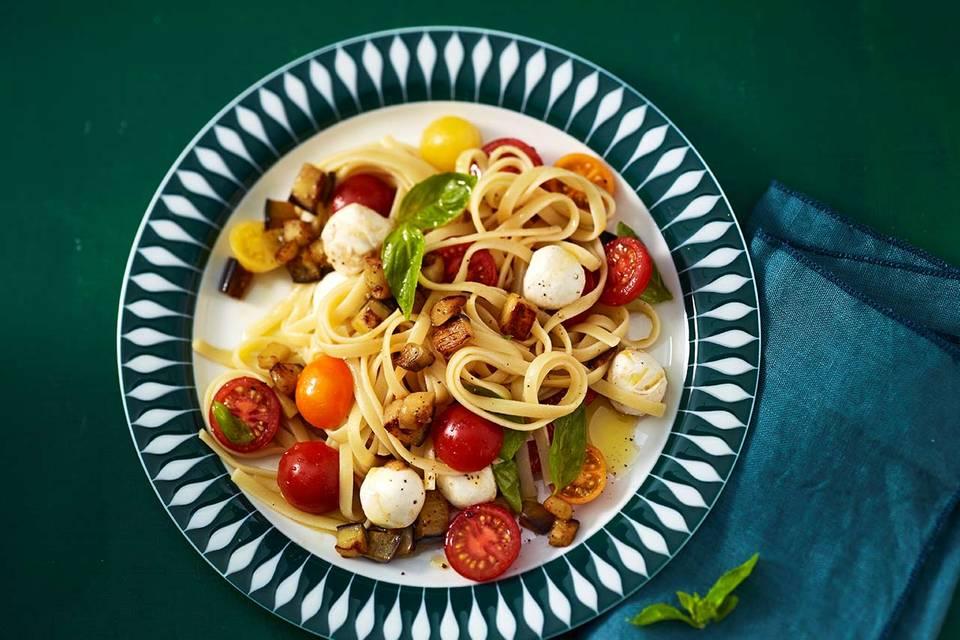 Tomaten-Mozzarella-Pasta Rezept