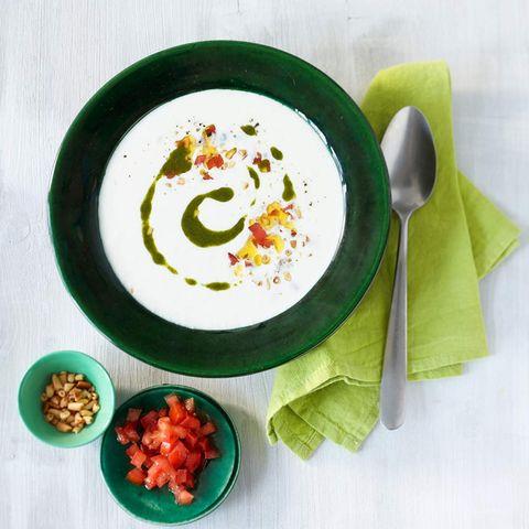 Mozzarella-Suppe