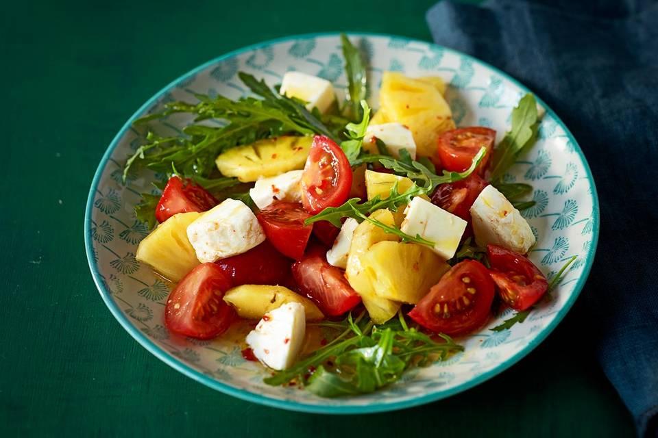 Tomaten-Ananas-Salat Rezept