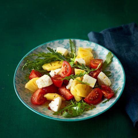 Tomaten-Ananas-Salat