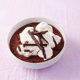 Zartbitter-Schokoladenpudding