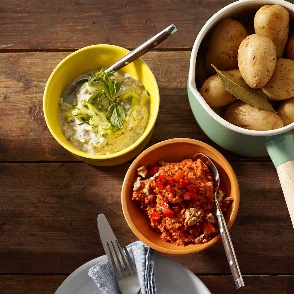 Zucchini-Joghurt-Dip