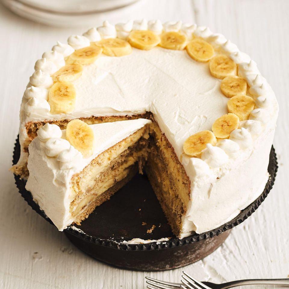Bananen-Mandel-Torte