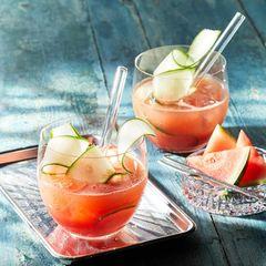 Melonen-Gurken-Drink