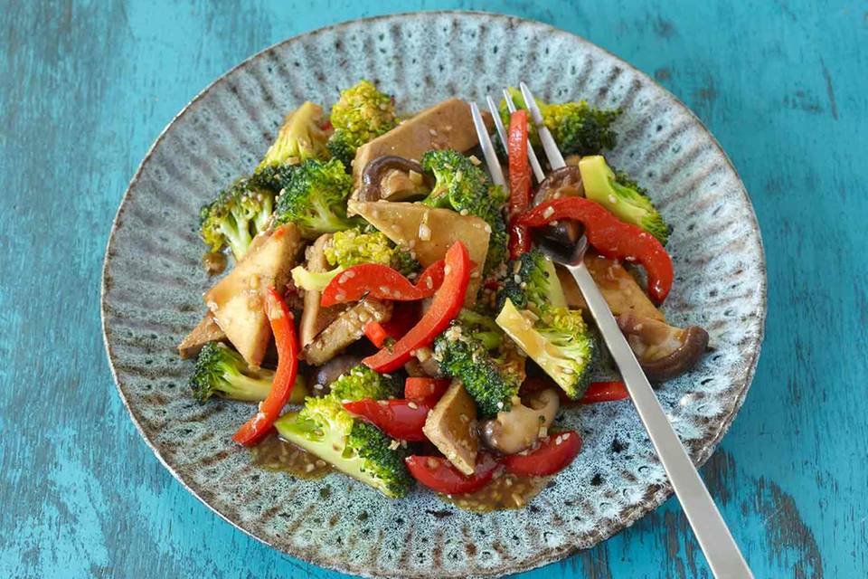 Asia-Tofu mit Gemüse Rezept