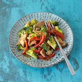 Asia-Tofu mit Gemüse