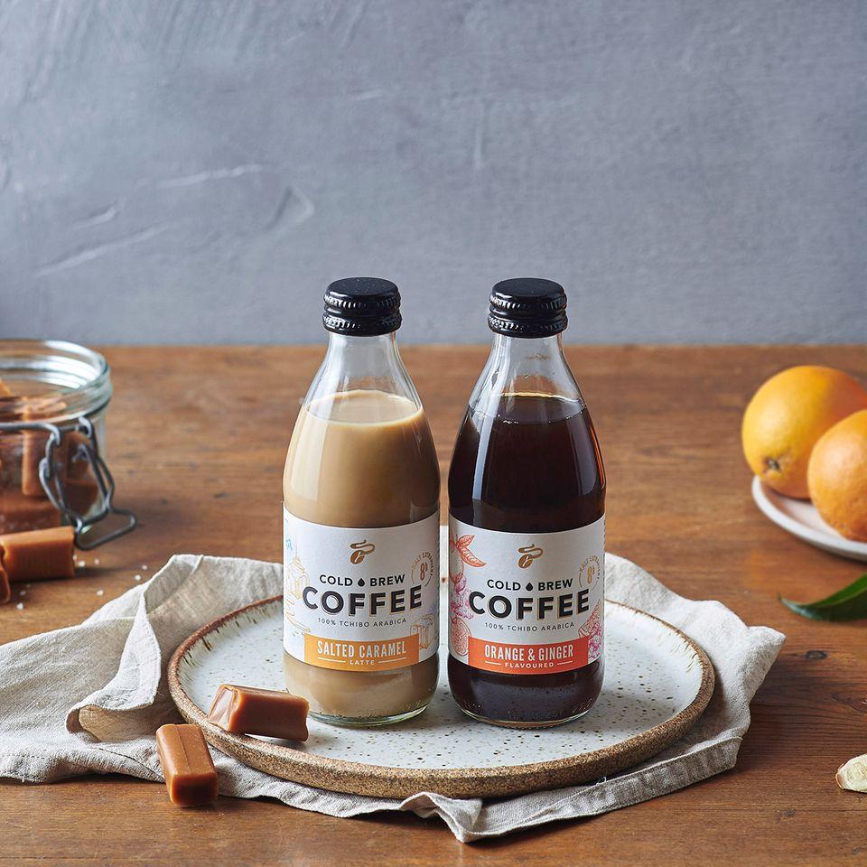 Cold Brew Coffee in der Flasche von Tchibo