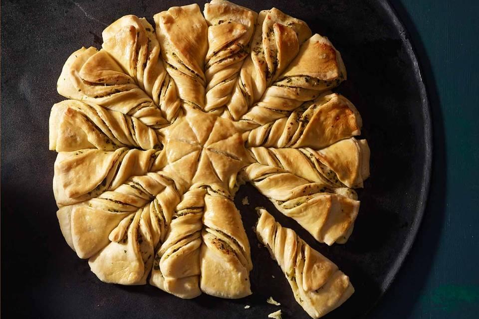 Kräuterbutter-Brotblume Rezept