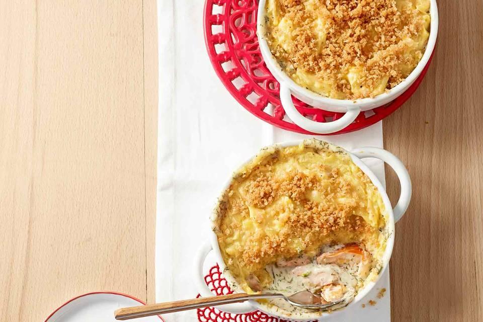 Fisch-Pie Rezept