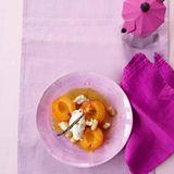 Aprikosen mit Ricotta