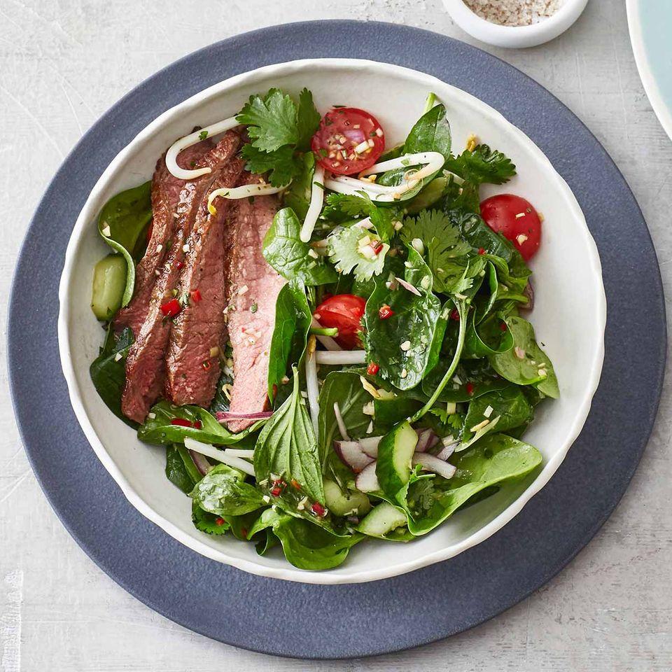 Thai-Rindfleisch-Salat
