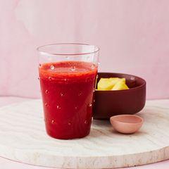 Rote-Bete-Ananas-Smoothie: Thermomix ® Rezept