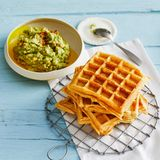 Maiswaffeln mit Guacamole: Thermomix ® Rezept