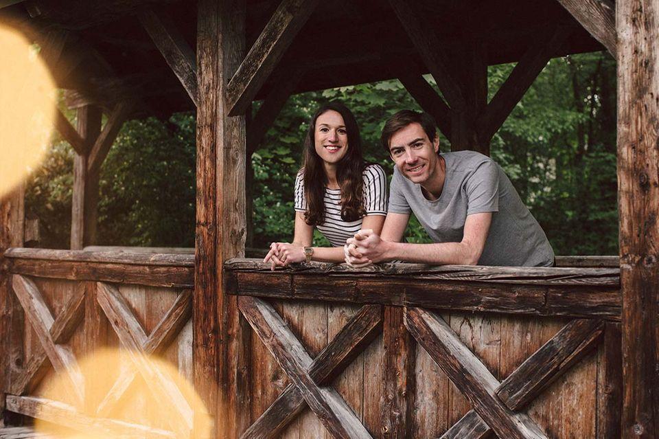 Die beiden Gründer Caroline Steingruber und Tim Nichols