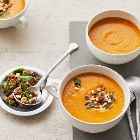Cremige Möhren-Linsen-Suppe für Thermomix ®
