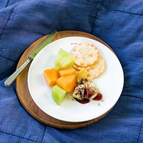 Stilton mit Melone