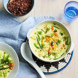 Gemüse-Allerlei in Curry-Kokosmilch