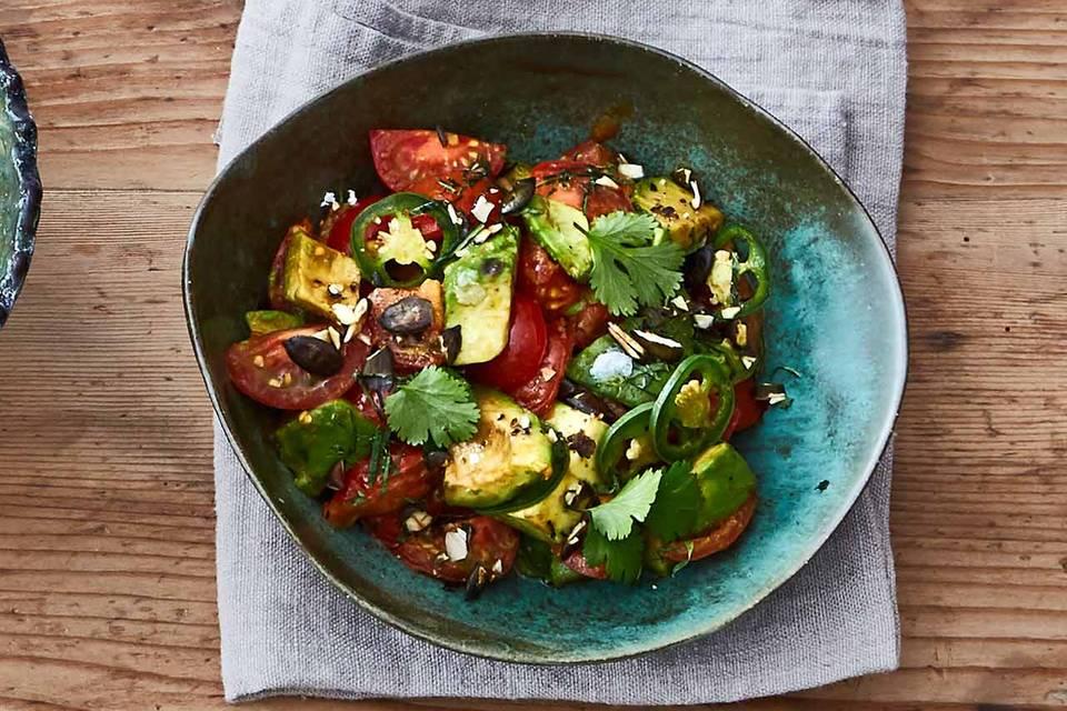 Avocado-Tomaten-Gemüse Rezept
