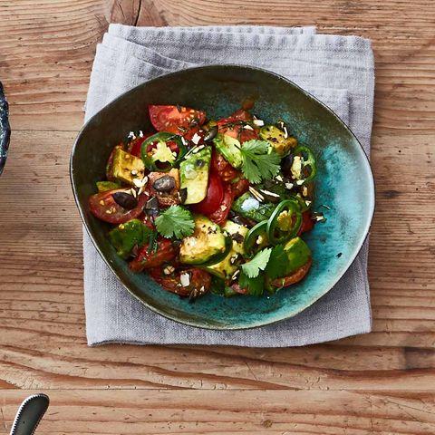 Avocado-Tomaten-Gemüse