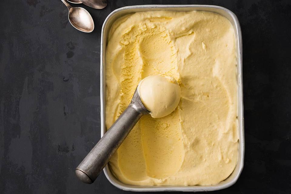 Klassisches Vanilleeis Rezept