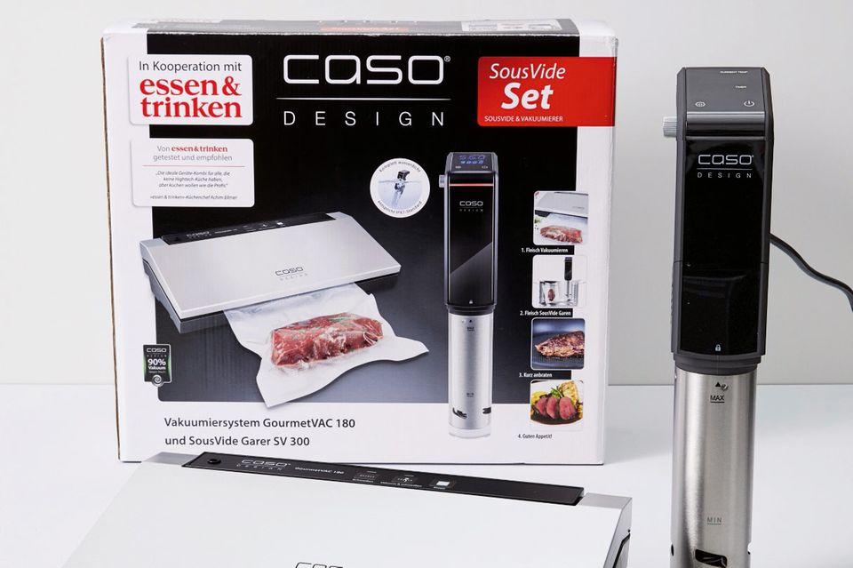 SousVide-Set von Caso Design und »e&t«