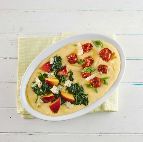 polenta mit topping