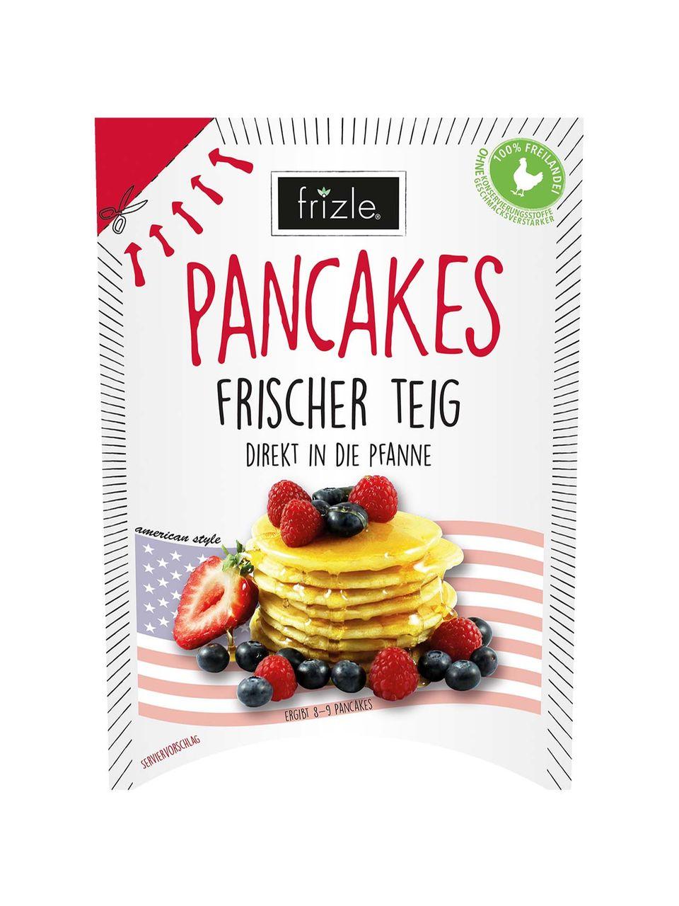 Frischer Pancake-Teig von frizle
