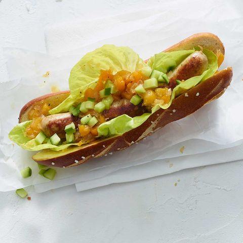 Hotdog süßsauer