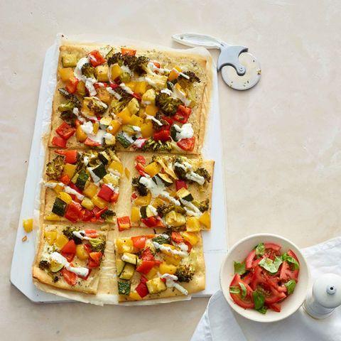Gemüse-Dinkel-Pizza